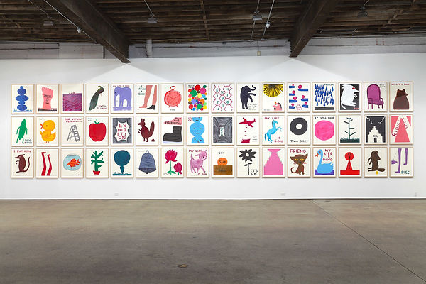 Installatie David Shrigley