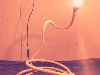 De lamp is klaar!