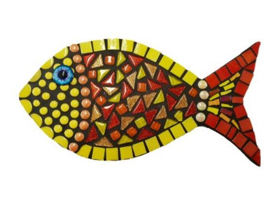Mosaic Kit - Fish Arthur