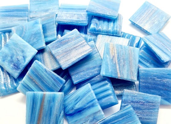 Cosmic Tiles - Mist Blue - 50pc