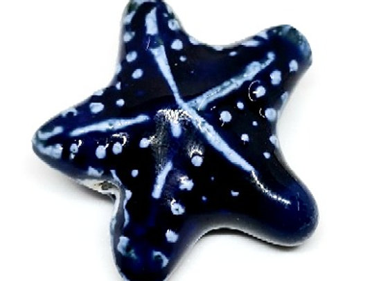 Ceramic Starfish - Blue