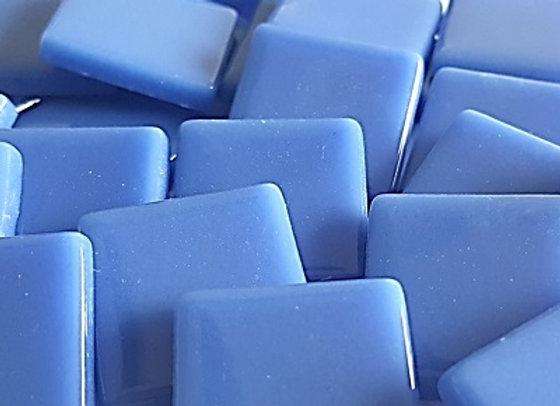 Glass Opaque Squares (23X23mm) Lavish Blue