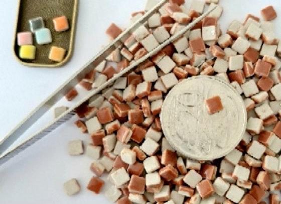 Fudge - Micro Mini Ceramic Tiles