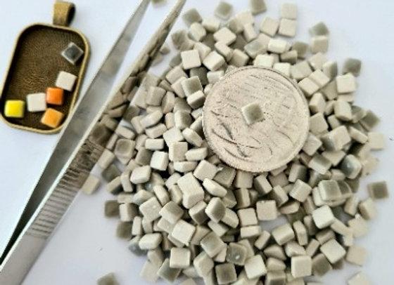 Dark Grey  - Micro Mini Ceramic Tiles