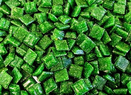 Vitreous Tiles (10x10mm) Dark Green