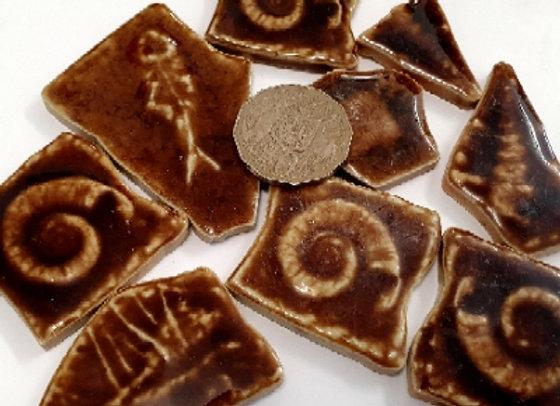Crazy Pave Larger Ceramic Pieces Chocolate - 200 grams