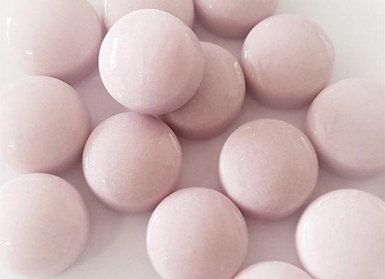 Glass Smarties Plain 12mm - Light Pink