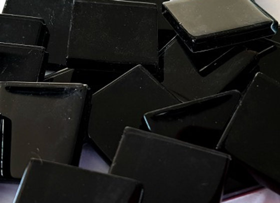 Crystal Tiles - (23x23mm) - Black