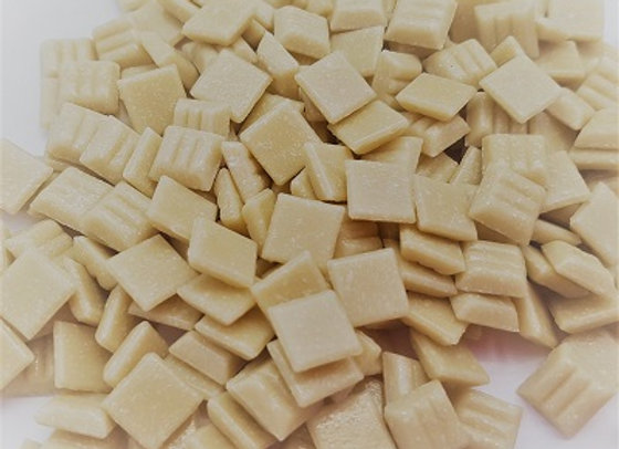 Vitreous Tiles (10x10mm) Cream