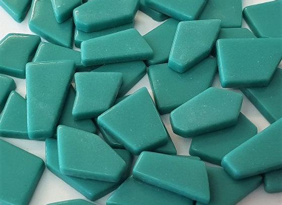 Glass Puzzle Piece - Jade