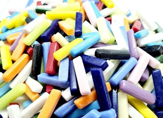 1 Kg Glass Match Sticks - Mixed