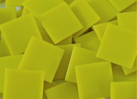Vitreous Tiles (20x20mm) Cool Yellow