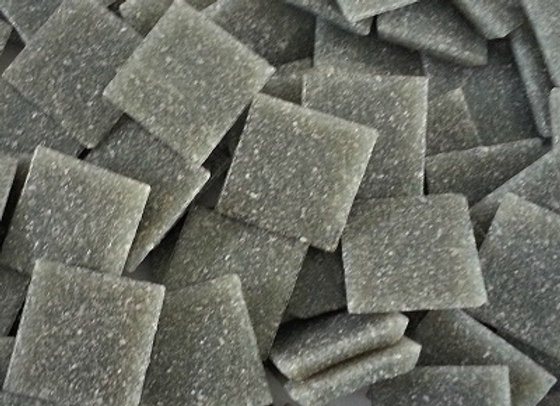 Vitreous Tiles (20x20mm) Dark Grey