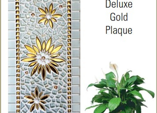 Mosaic Kit - Deluxe Gold Plaque 405x200x9mm