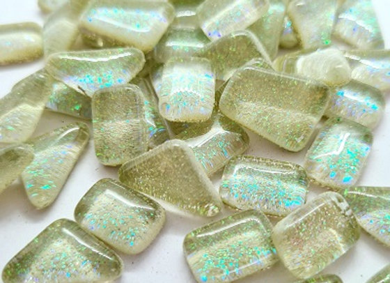 Glass Glitter Melts Opal- 100grams