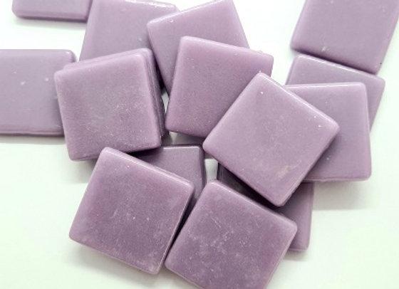 Glass Opaque Squares (23X23mm) Lavender