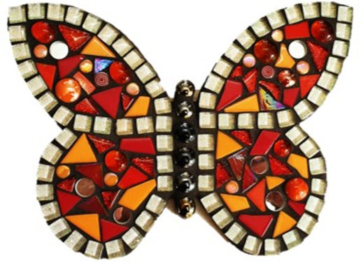 Mosaic Kit - Butterfly -  Fire & Spice