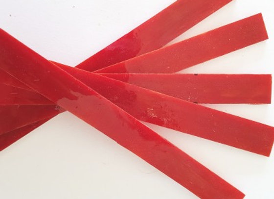 Stained Glass Sticks - Red Swirl