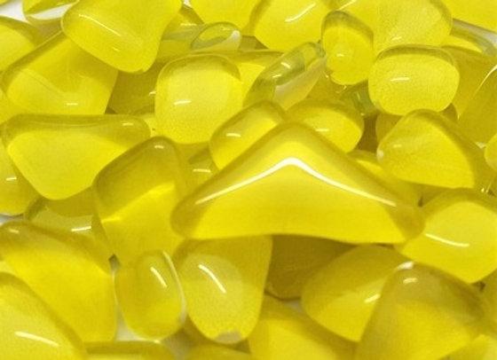 Glass Melts  Yellow