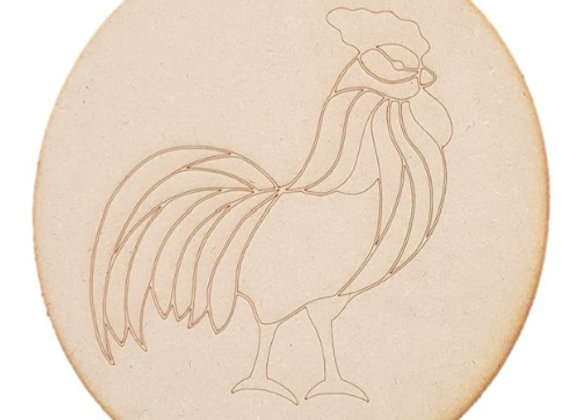 Engraved Stanley the Rooster