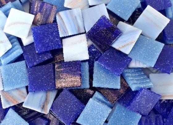 Colour Blend 20x20mm - Congo Blue