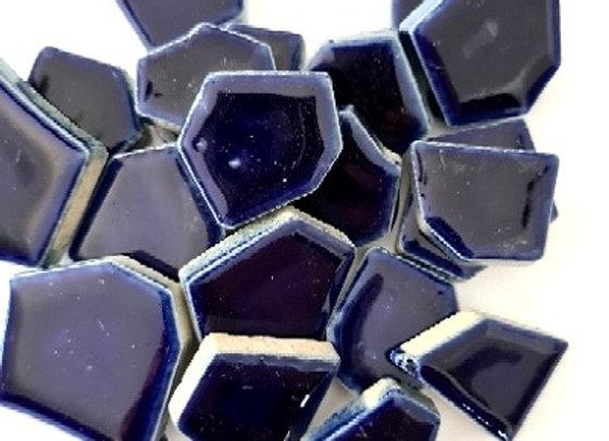 Deep Blue Ceramic Pieces - 200 grams