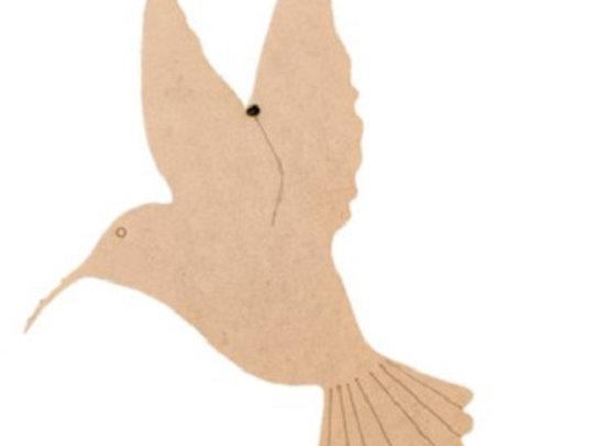 Hanging Humming Bird 170x250x6mm