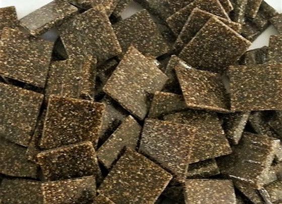 Vitreous Tiles (20x20mm) Dark Brown