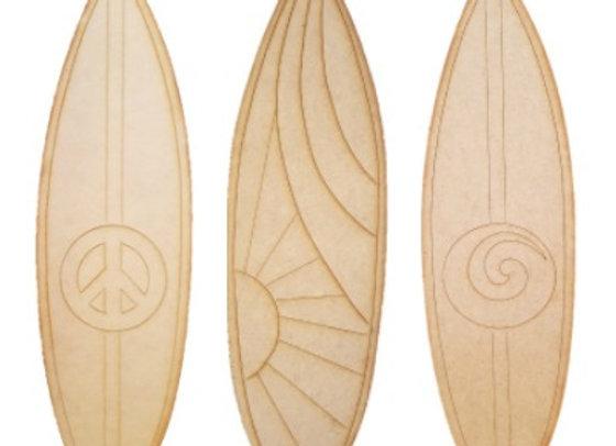 Surfboard - Various Designs - 580x160x9mm