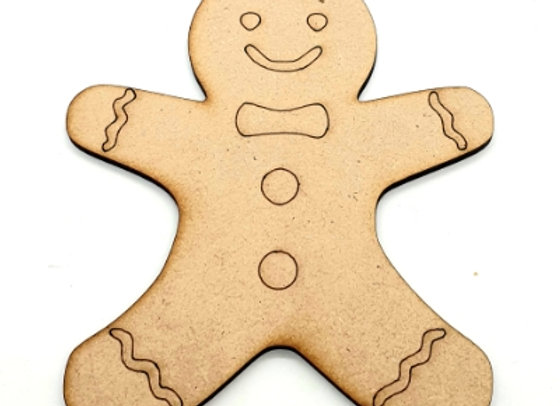 Christmas Shapes x5 -  Gingerbread Men