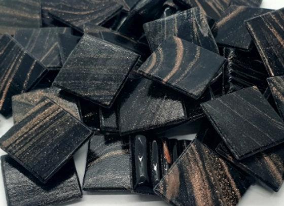Cosmic Tiles - Black/Gold - 50pc