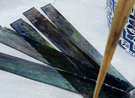 Transparent Stained Glass Stick - Earth