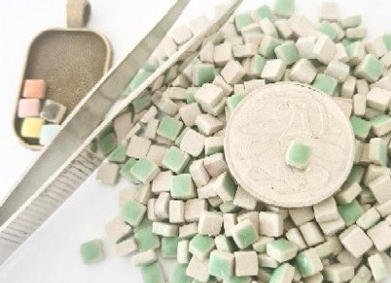 Mint  - Micro Mini Ceramic Tiles