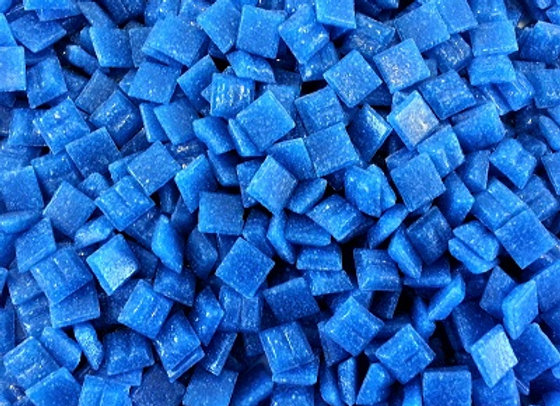 Vitreous Tiles (10x10mm) Blue