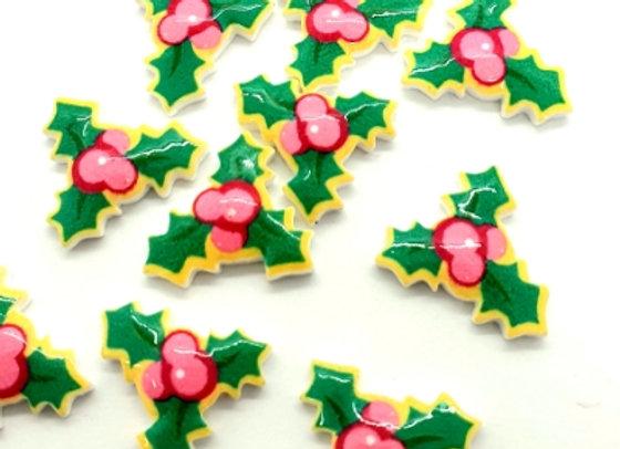 Christmas Holly (G) x 10pc