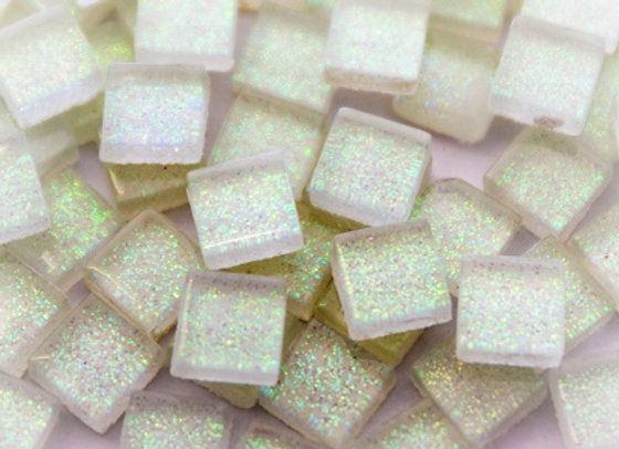 Glitter Tiles (10x10mm) Fairy Floss