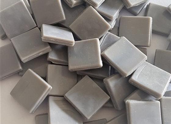 Murano Tiles (15x15mm) Soft Grey