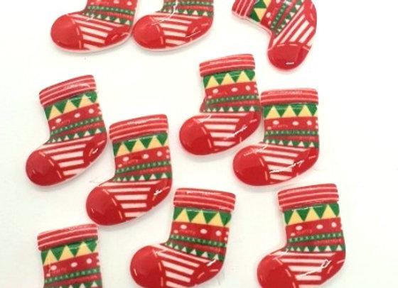 Christmas Stockings (I) x 10pc