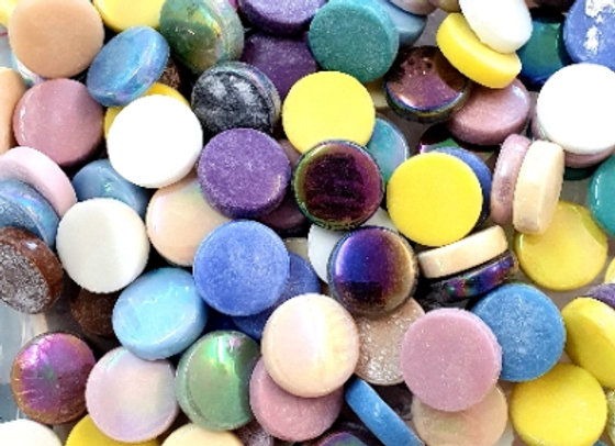 Glass Smarties  - 20 mm Mixed