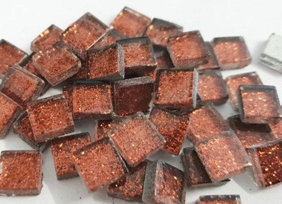 Glitter Tiles (10x10mm) Bronze