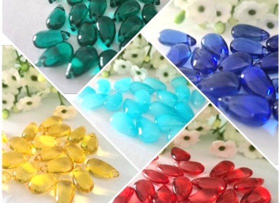 Glass Jelly Beans x 20pc