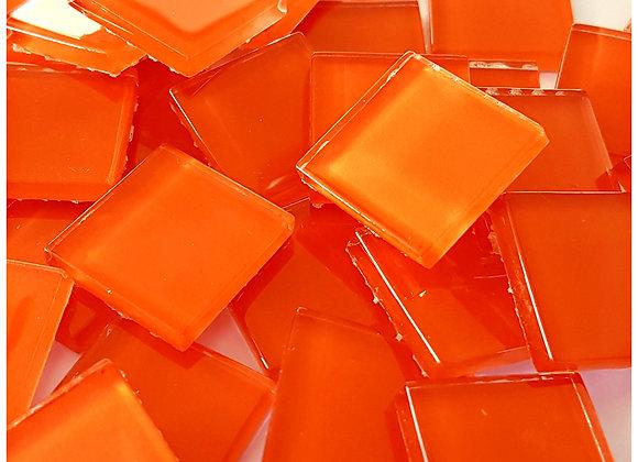 Crystal Tiles - (23x23mm) - Orange