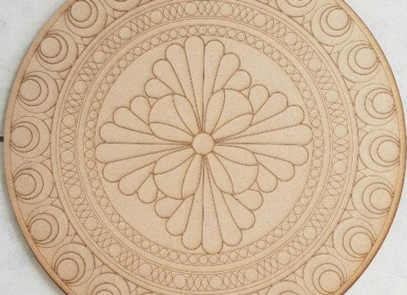 Engraved Mandala 450x450x9mm