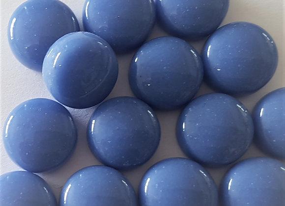 Glass Smarties Plain 12mm - Cornflower Blue