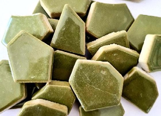 Olive Ceramic Pieces - 200 grams