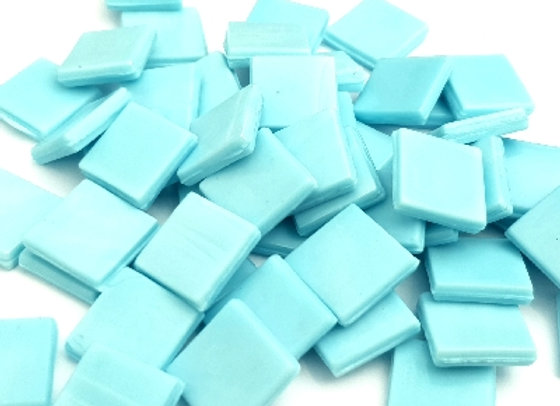 Murano Tiles (15x15mm) Ice Blue