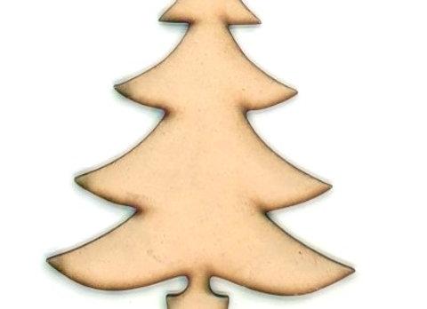 Christmas Shapes x5 -Trees