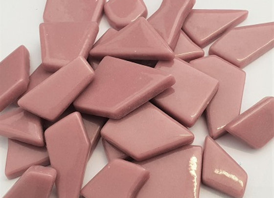 Glass Puzzle Pieces - Rose