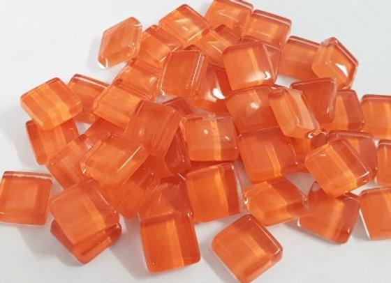 Crystal Tiles (10x10mm) Orange
