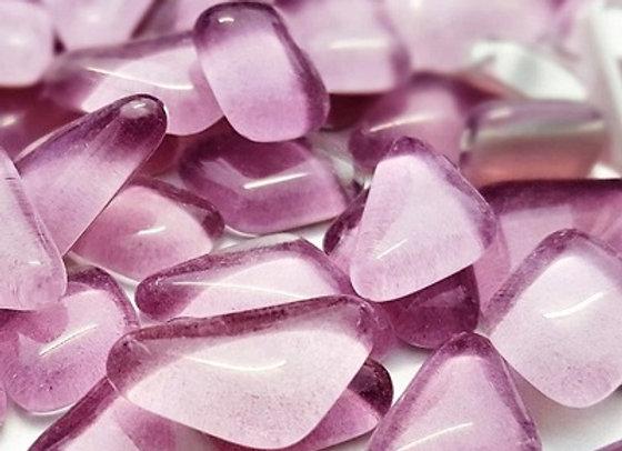 Glass Melts Lilac